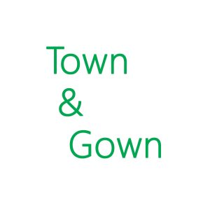 Town and Gown Magazine Green Logo